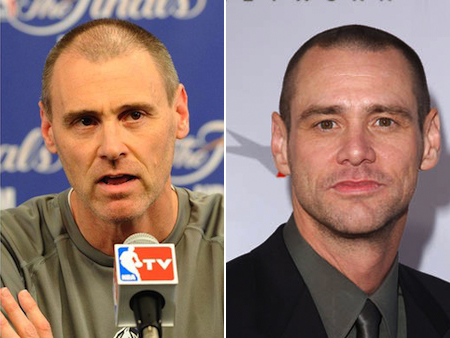 rick carlisle jim carrey athlete celeb look alikes