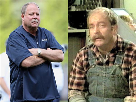 mike holmgren wilford brimley celeb athlete look alikes