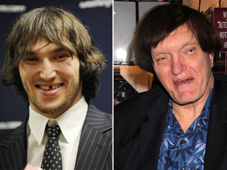 alex ovechkin richard kiel athlete celeb look alilkes