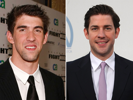 john krasinski josh phelps celeb athlete look alikes