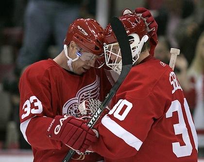 2005 red wings draper osgood