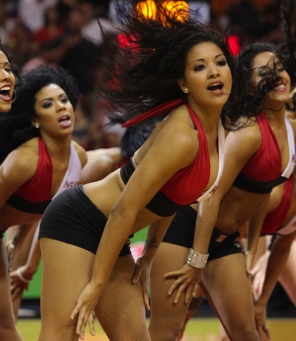 #4 miami heat dancers cheerleader sophia 2
