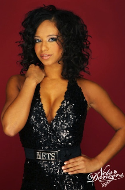 #5 new jersey nets dancers amanda