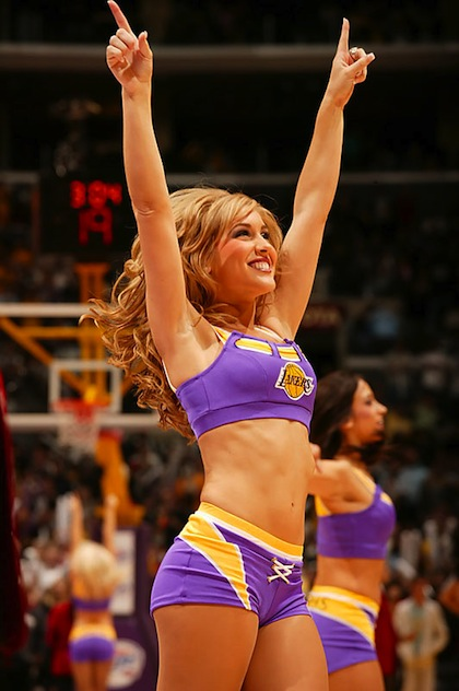 #8 Los Angeles Laker Girl jacquelyn