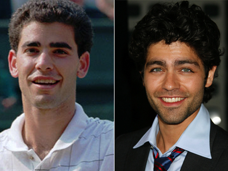 pete sampras adrian grenier celeb athlete look alikes