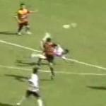 Erlan Mealla scorpion kick goal