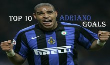 Top 10 Best Adriano Goals (Videos)