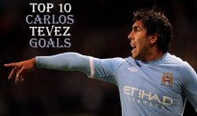 Top 10 Best Carlos Tevez Goals (Videos)
