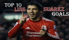Top 10 Best Luis Suarez Goals (Videos)