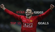 Top 10 Best Ryan Giggs Goals (Videos)
