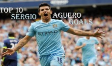 Top 10 Best Sergio Aguero Goals (Videos)