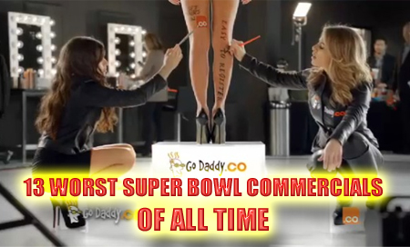WORST super bowl commercials of all time
