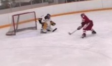 High Schooler Scores A Nifty Short-Handed Goal (Video)