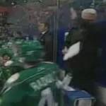 alexander radulov slashes coach in face