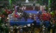 Argentine Boxing Match Ends In Massive Chair-Throwing Brawl (Video)