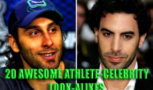 20 Awesome Athlete-Celebrity Look-Alikes