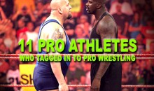 11 Pro Athletes Who Tagged In To Pro Wrestling