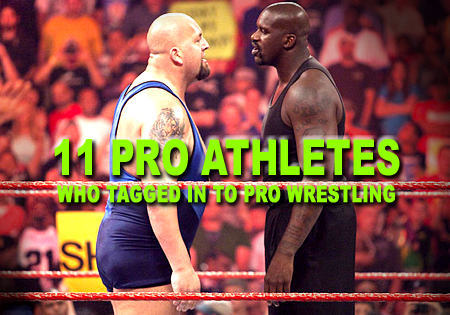 athletes who did pro wrestling