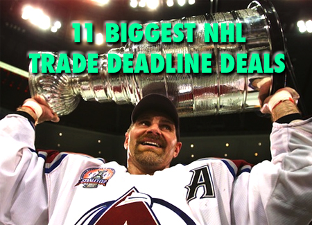 biggest nhl trade deadline deals