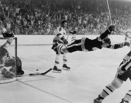 bobby orr the goal boston bruins