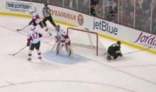 Brad Marchand's Epic Breakaway Fail! (Video)