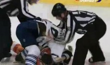 Frozen Fisticuffs Fight Of The Night — Brown vs. Rinaldo — 2/9/12