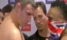 Dereck Chisora Slaps Vitali Klitschko During Weigh-In (Video)