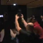 chisora vs haye brawl