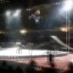 circus motorcycle stunt