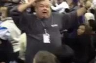 Crazy Kings Fan Does His Victory Dance (Video)