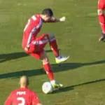 cristiano ronaldo backheel goal