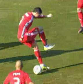 Cristiano Ronaldo   S Back Heel Goal Against Rayo Vallecano Was All