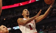 Derrick Rose Had A Jackie Moon Moment Last Night (Video)