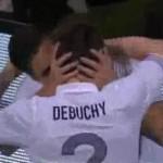 giroud celebrate goal with kiss