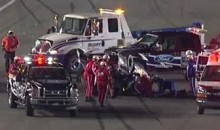 Jeff Gordon Flips His Car At Bud Shootout (Video)