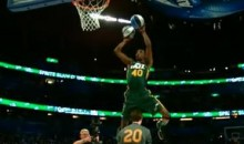 Here's The Dunk That Won Jeremy Evans The 2012 NBA Slam Dunk Contest (Video)