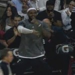 lebron james dancing