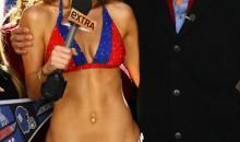 Maria Menounos Loses Bet, Wears New York Giants Bikini (Pics/Video)
