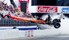 Here's Mike Austin's Frightening Crash During The NHRA's 2012 Winternationals (Video)