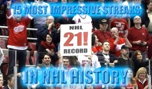 15 Most Impressive Streaks In NHL History