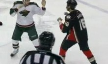 Frozen Fisticuffs Fight Of The Night — Parros vs. Kassian  — 2/14/12