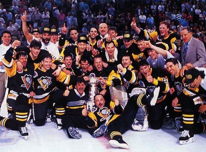 penguins 1991 cup