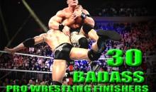 30 Badass Pro Wrestling Finishers (GIFs)