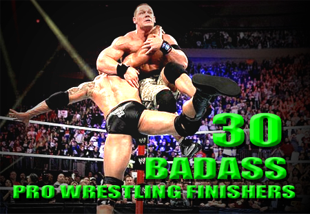 pro wrestling finishers finishing moves