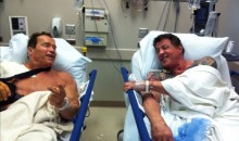 Arnold Schwarzenegger And Sylvester Stallone Get 2-For-1 Shoulder Surgeries (Pic)