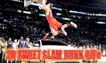 20 Sweet Slam Dunk GIFs