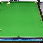 snooker fluke shot
