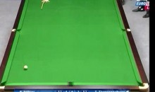 Is This The Luckiest Shot In Snooker History? (Video)