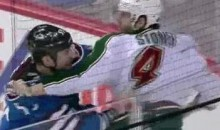 Frozen Fisticuffs Fight Of The Night — McLeod vs. Stoner — 2/2/12
