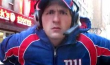 Just A Tom Coughlin Impersonator Roaming Through The Streets Of New York (Video)
